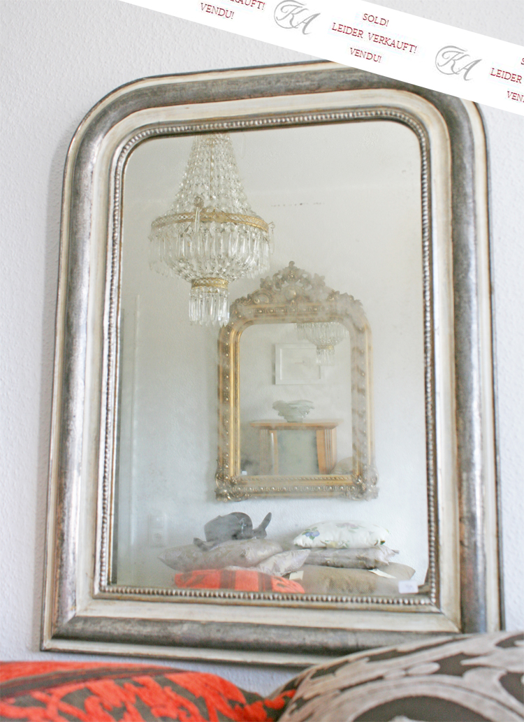 antiker spiegel louis philippe. Black Bedroom Furniture Sets. Home Design Ideas