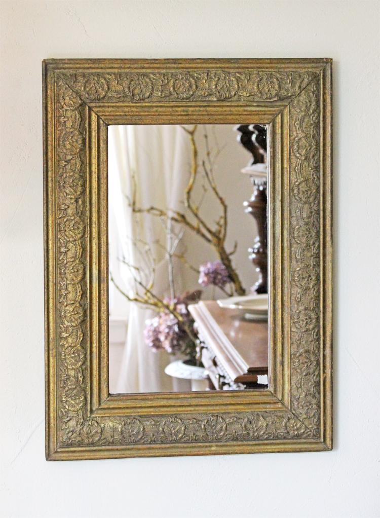 antiker spiegel jugendstil. Black Bedroom Furniture Sets. Home Design Ideas