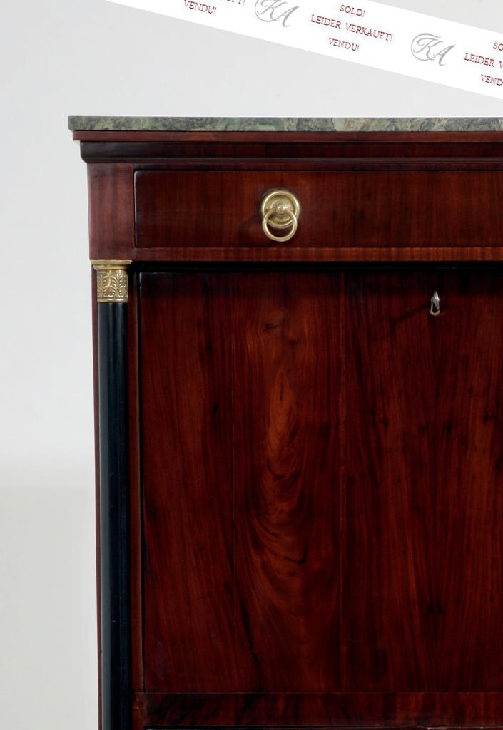 sekret r mahagoni empire stil. Black Bedroom Furniture Sets. Home Design Ideas