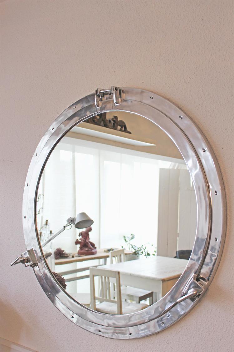 Spiegel bullauge 690 - Rustikaler spiegel ...