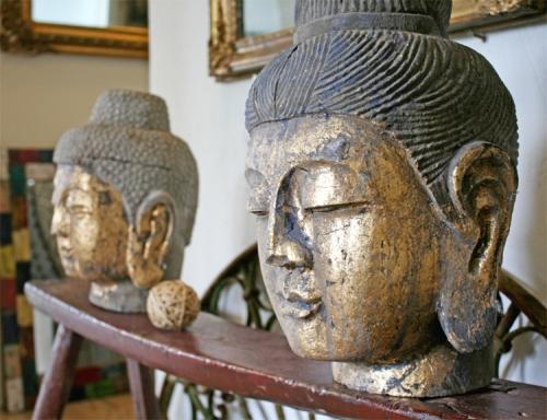 buddha kopf stein. Black Bedroom Furniture Sets. Home Design Ideas