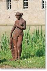 Gartenstatue, Schöne Nackte