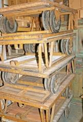 Alte Industrie Rollwagen