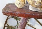 Alte, antike Holz - Bänke, Asien