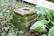 Altes Postament Sandstein