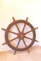 Altes Schiffs-Steuerrad, * € 150,- *