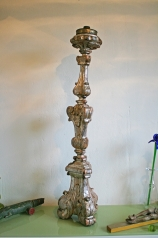 Antiker Altarleuchter, Kirchenleuchter