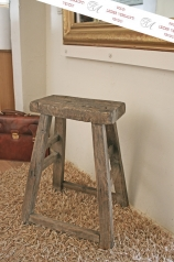 Antiker Hocker, Holz