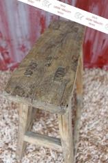 Antiker Holz-Hocker