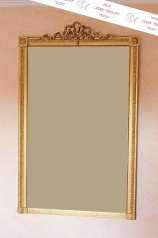 Antiker, großer Kamin-Spiegel, Louis Seize Stil
