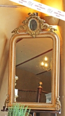 Antiker Kamin-Spiegel, Frankreich