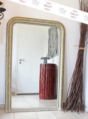 Antiker Kamin-Spiegel, Louis Philippe