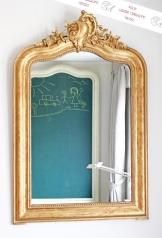 Antiker Louis Quinze Spiegel, Frankreich, Paris, um 1860