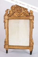 Antiker Louis Seize Spiegel, Hochzeitspiegel