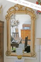 Antiker Prunk-Spiegel, Frankreich, um 1870