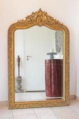 Antiker Salon-Spiegel