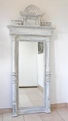 Antiker Spiegel, Gründerzeit, weiß