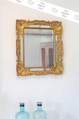 Antiker Spiegel, Frankreich, Louis Quinze