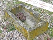 Antiker Stein Trog