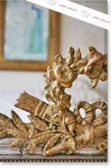 Antiker Spiegel, Frankreich, Louis Philippe