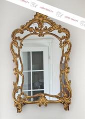 Antiker  Kommoden Spiegel, Provence