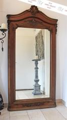 Antiker, großer Salonspiegel, Saalspiegel