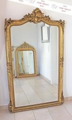 Antiker, großer Salonspiegel