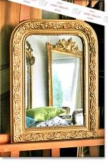 Antiker, kleiner Spiegel