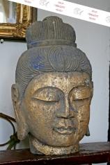 Buddha Kopf, Stein