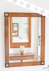 Ein Paar Wandspiegel, Biedermeierstil