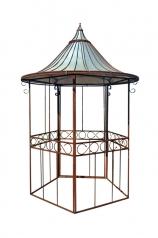 Ein stilvoller, kleiner Vogel Pavillon