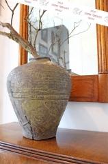 Eine alte Vase, Steingut