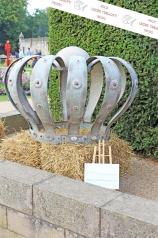 Eine große Gartenkrone, Eisen