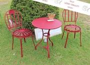Garten-Sitzgruppe, Eisen geschmiedet