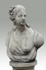 Garten Skulptur, Frauenbüste