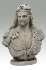 Garten Skulptur, Büste