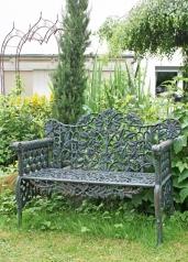 Gartenbank, Eisenguss