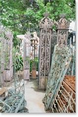 Gartenobjekte aus Eisen, Gusseisen