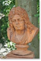Gartenskulptur, Herrenbüste