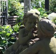 Gartenskulptur, Spielende Kinder
