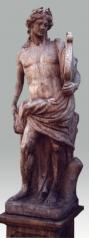 Gartenstatue, Gott Apoll, Steinguss