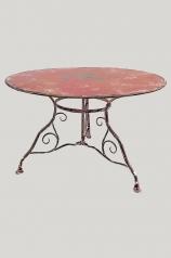Gartentisch, Eisen, dm 100 und 120cm