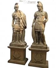 Große Garten Statuen, Steinguss