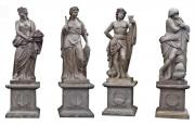 Große Garten Statuen, Jahreszeiten, Steinguss
