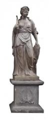 Große Garten Statue, Sommer, Steinguss