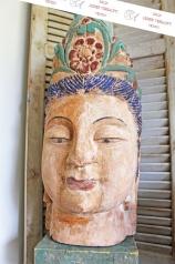 Großer Buddha Kopf