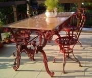 Großer Esstisch, Gartentisch