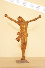 Korpus Christus, 18. Jhd. vergoldet