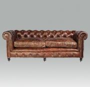Ledersofa, Vintage, * € 3.890,- *