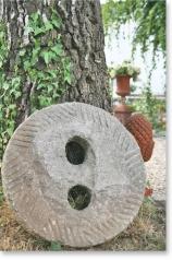 Mühlstein, Granit